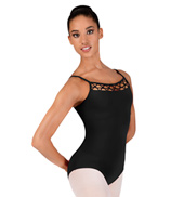 Adult Camisole Lattice Front Leotard