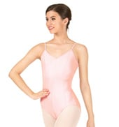 Seamed Camisole Leotard