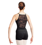 Adult High Mesh Back Camisole Leotard