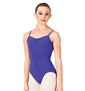 Pinch Front Seam Cami Leotard