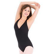 V-Front Halter Leotard