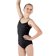 Girls Mock Wrap Camisole Leotard
