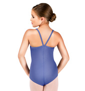 Girls V-Strap Back Camisole Leotard
