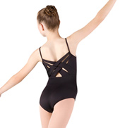 Girls Camisole Cross Back Leotard