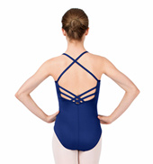 Adult Lattice Back Camisole Leotard