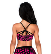 Girls Polka Dot Camisole Bra Top