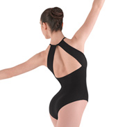 Twist Front Camisole Leotard
