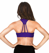 Adult Triple Strap Back Tank Bra Top
