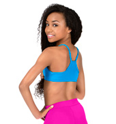 Girls Racer Back Camisole Bra Top