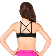 Girls Pinch Front Camisole Bra Top