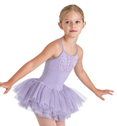 Girls Daisy Sequin Bodice Camisole Tutu Dress
