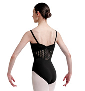 Adult Square French Lace Camisole Leotard