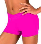 Girls V-Waist Dance Short