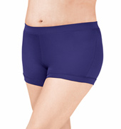 Adult Plus Size Banded Leg Boy Cut Dance Short