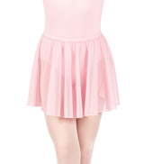 Girls Pull-On Mesh Skirt