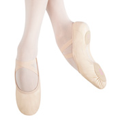 Child Large Elemental Leather Split-Sole Ballet Slipper