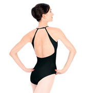 Mock Halter Leotard