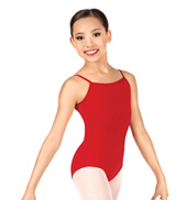 Child Adjustable Strap Camisole Leotard