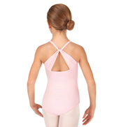 Child Draped Back Camisole Leotard