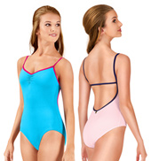 Adult Darya Pinch Front Camisole Leotard