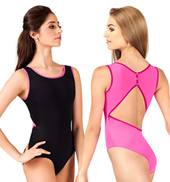 Basia High Neck Tank Leotard