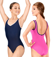 Adult Oksana Pinch Front Tank Leotard