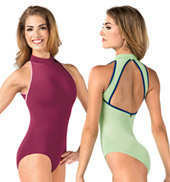 Adult Karolina Mock Neck Tank Leotard