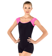 Adult Esther Short Sleeve Shorty Unitard