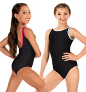 Girls Anja Class Essentials Tank Leotard