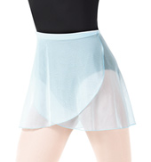 Adult Nikita Mesh Dance Wrap Skirt