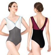 Adult Nora Two-Tone Tank Leotard