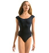 Adult Open Back Cap Sleeve Leotard