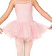 Girls Velvet Ribbon Tutu Skirt