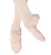 Adult Ballon Canvas Split-Sole Ballet Slipper
