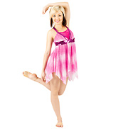 Lyrical Costume with Attached Shorty Unitard