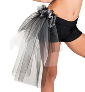 Child Side Bustle Tutu Short