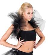 Adult Shoulder Ruffle Shrug