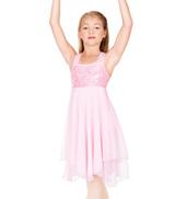 Child Sequin Bodice Chiffon Dress