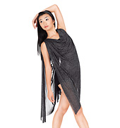 Adult Shorty Unitard with Attached Drape