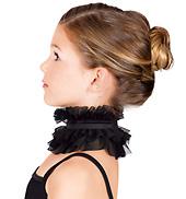 Child Mesh Ruffle Collar