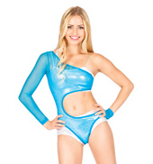 Powermesh Cut Out Leotard