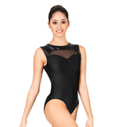 Sweetheart Zipper Back Leotard