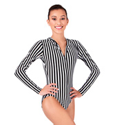 Hooded Long Sleeve Leotard