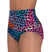 Girls Printed High Waist Brief