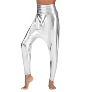 Adult Metallic Harem Pants