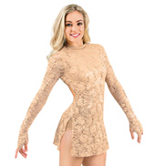 Adult Long Sleeve Lace Dress