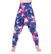 Girls Galaxy High Waist Harem Pants