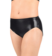 Adult Metallic Dance Briefs