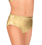 Girls Metallic Brief