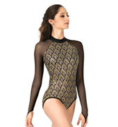 Adult Long Sleeve Sequin Leotard